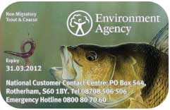 Get your rod licence on-line